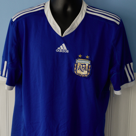 adidas Other - ADIDAS AFA ARGENTINA SOCCER JERSEY FOOTBALL LARGE 8f243fd2a